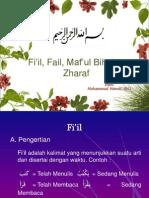 Fi'il, Fail, Maf'ul Bih dan Zharaf.ppt
