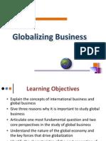 Globalizing Business Presentation