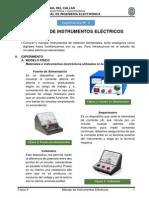 Laboratorio de Física II - Experiencia 2 - Manejo de Instrumentos Electricos