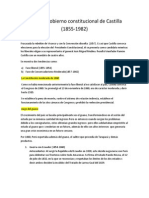 Segundo Gobierno Constitucional de Castilla