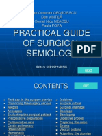 Practical Guide of Surgical Semiology