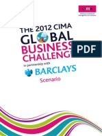 Scenario for Case Study CIMA BC 2012 V and Y productions - UK