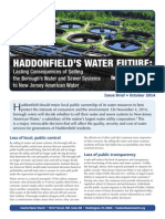 Haddonfields Water Future