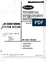 Carrier Technical Development Program - Air Conditioning