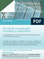 Propuestas a La Iniciativa de Ley Establecimientos Mercantiles Del Distrito Federal