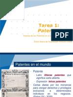 Ventura Dulce -Tarea 1- Patentes