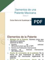 Ventura Dulce - Tarea 4 - Patente Mexicana