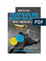 How to Play Killer Blues Solos on the Saxophone