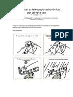 Como Usar Telescopio
