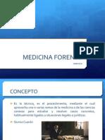 Medicina Forense Unidad II