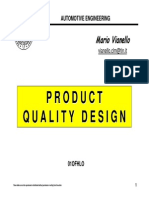 Product Quality Design