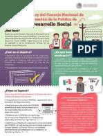 28-10-14  INFOGRAFÍA Ley CONEVAL