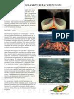 Tipos de Volcanes y Erupciones