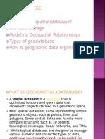 Geo Database