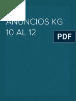 Guía Anuncios Kg 10 Al 12