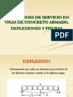 5.4condiciones de Servicio Para Vigas en Flexion