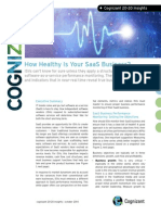 How Healthy Is Your SaaS Business?