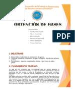 Obtencion de Gases