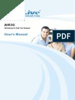 AirLive Air3G Manual