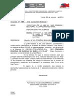 OF. MÚLT. N° 181 Y  DIRECTIVA  032 XLII CONCURSO PROVINCIAL DE BANDA DE MÚSICA ESCOLAR - 2014