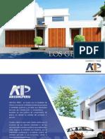 Brochure Los Geranios-2014