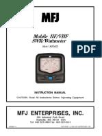 WattmeterSWR MFJ-822