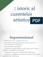 Mic Istoric Al Curentelor Artistice