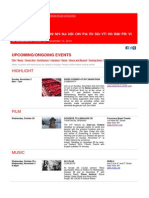 Swiss Events in New York - October 29 - November 12, 2014