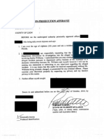 Executed Wilhelm Non-Prosecution Affidavit_Redacted