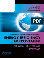 Energy Efficiency Improvement of Geotechnical Systems