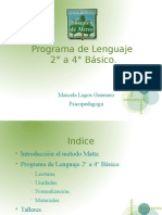 Presentacion Programa de Lenguaje