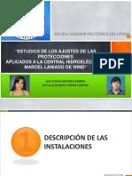 """""""ESTUDIOS DE LOS AJUSTES DE LAS PROTECCIONESAPLICADOS A LA CENTRAL HIDROELÉCTRICA """""""