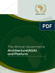 The African Governance Architecture (AGA) and Platform Notebook