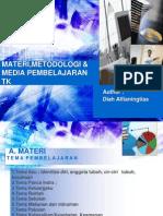 Materi,Metode & Media PEMBELAJARAN TK