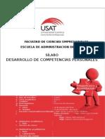 SILABO 2014 II Desarrollo de Competencias Personales