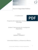 Unidad 3.Herramientas de Investigacion Diagnostica