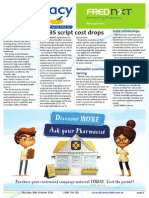 Pharmacy Daily for Thu 30 Oct 2014 - PBS script cost drops, Practical pharmacy tools win, NZ optimises pharmacy, Sensaslim scammer sprung, and much more