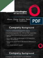 Lucent Technologies Case Report