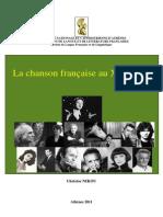 Cours LA La Chanson Francaise Au XX Siecle