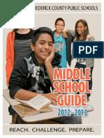 MiddleSchoolCourseGuide2012 13 WEB
