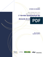 Projecoes Demanda Energia Eletrica-2ªRevisão Quadrimestral 2013-2017