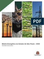 Matriz Energética SP