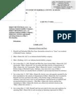 David Barrow lawsuit