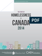 The State of Homelessness in Canada 2014