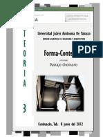 Forma - Contenido (analisis teórico)