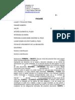 Plantilla Pagaré y Libranza