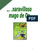 Propuesta Didactica de El Mago de Oz