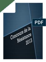 Concours de La Résistance