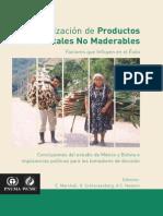 Comercializacion de Productos No Maderables Del Bosque