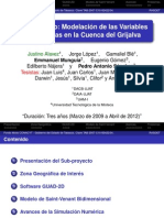 Modelación de las Variables Hidrológicas en la Cuenca del Grijalva